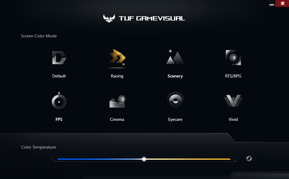 ASUS TUF Gaming FX505DT GAME Visual