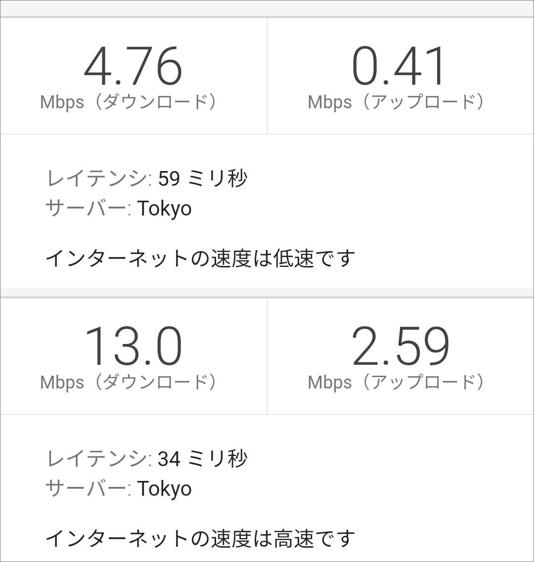 Chat WiFi テスト@多摩