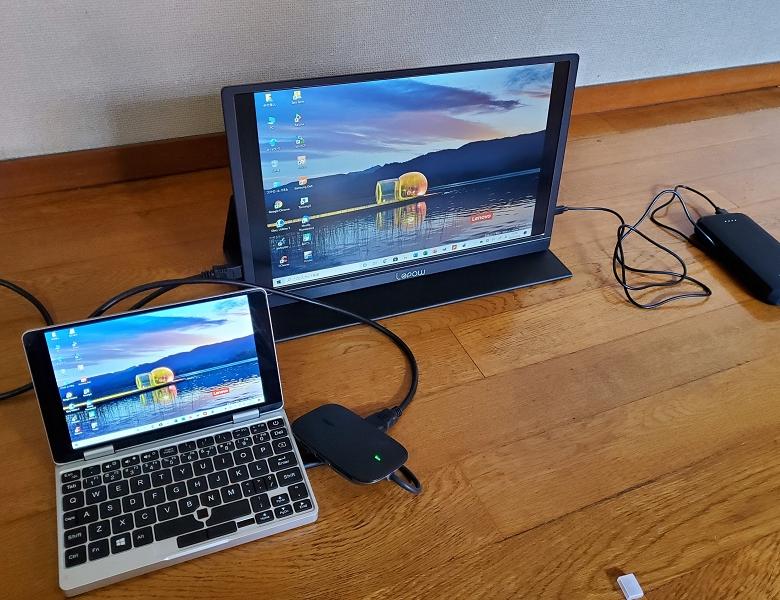 Windows PCとの接続例