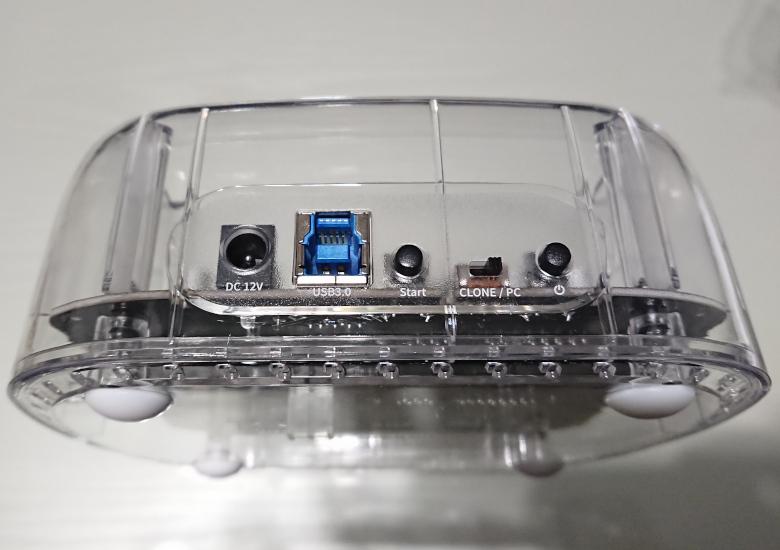 ORICO HDD Clone背面