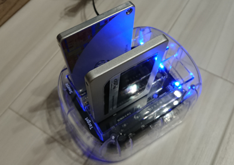 ORICO HDD Clone LED