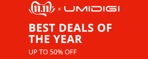 UMIDIGI Power 3が149.99ドル!現行のUMIDIGIがほぼ全部最安値か?Aliexpressの  UMIDIGI Official Storeで11.11セール開催中!