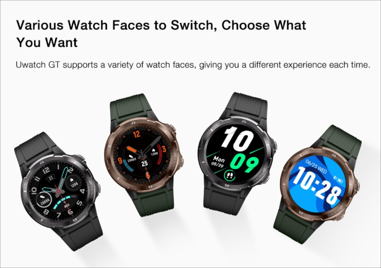 Uwatch GT face