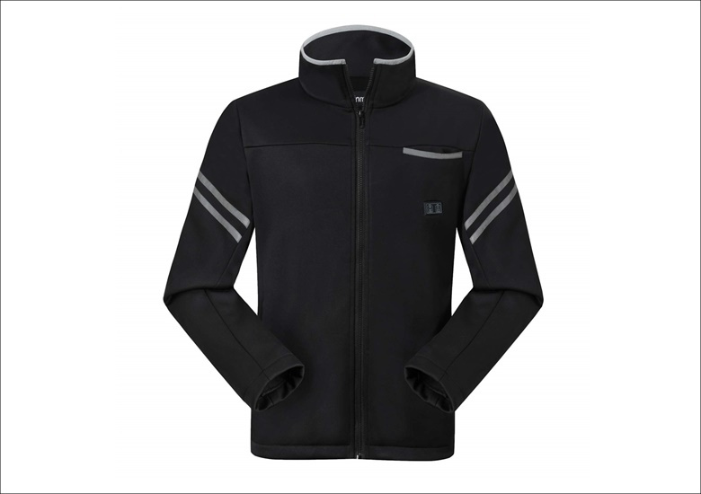 vinmori電気ジャケットブラック