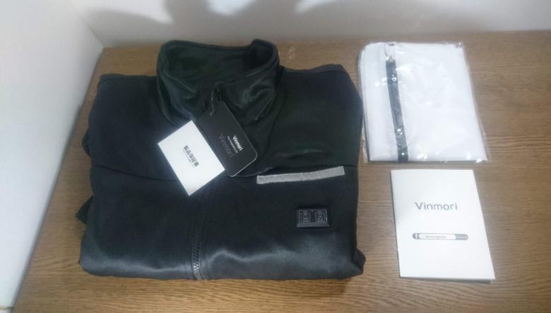 vinmori電気ジャケットパッケージ内容