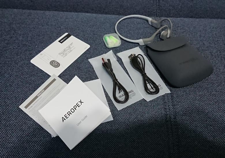 AEROPEX 付属品
