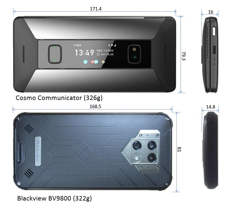 Blackview vs Cosmo Communicator