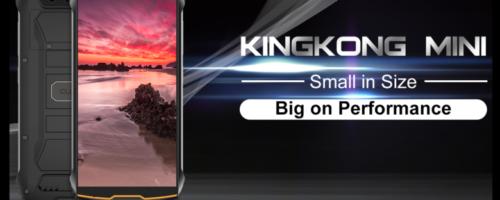 CUBOT KINGKONG MINI - いまや珍しい4インチサイズのタフネススマホ!アウトドア用にひとついかが?