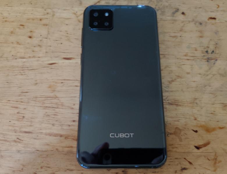 CUBOT X20 Pro 背面