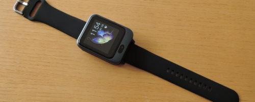 LEMFO LEM11 レビュー- 「パワーバンク」が付属するAndroid OS搭載スマートウォッチ。腕時計としてのデザインはイマイチだけど、いろんな使い方ができます(実機レビュー)