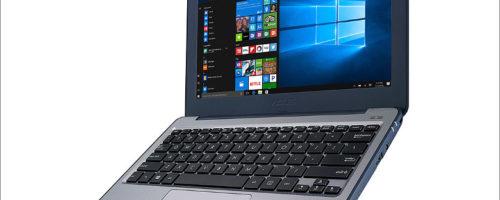 ASUS Laptop W202NA - エッジ部分にラバー素材を採用するタフネスモバイルノート、なにげに愛嬌を感じるデザインが素敵!