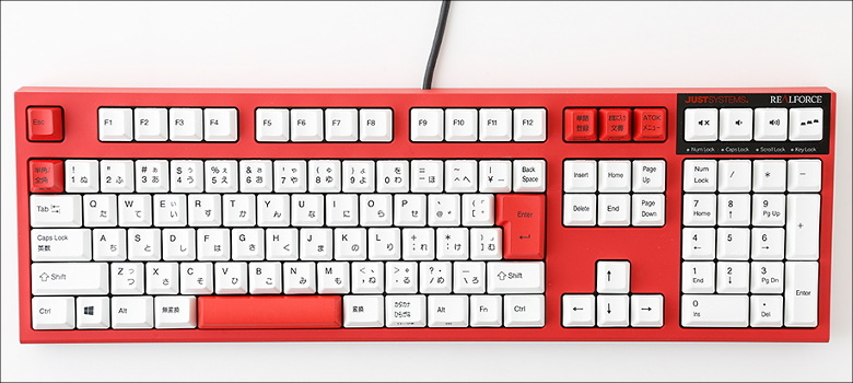 東プレ REALFORCE CUSTOM Edition The RED