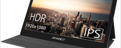 JAPANNEXT JN-MD-IPS1560TFHDR - 15.6インチでタッチ対応のモバイルモニター、高性能スマホで使ってみたい!