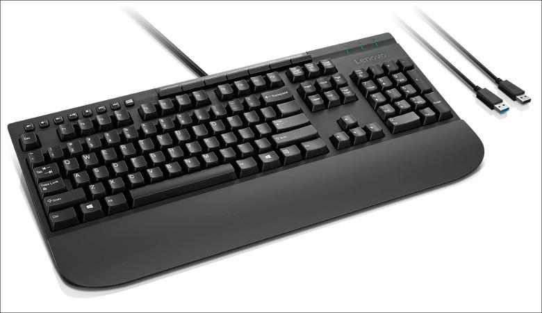 Lenovo エンハンスドパフォーマンス USBキーボード 2