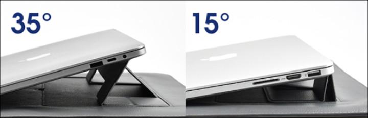 SINEX - ケース・スタンド・リストレスト3in1ラップトップスタンドケース