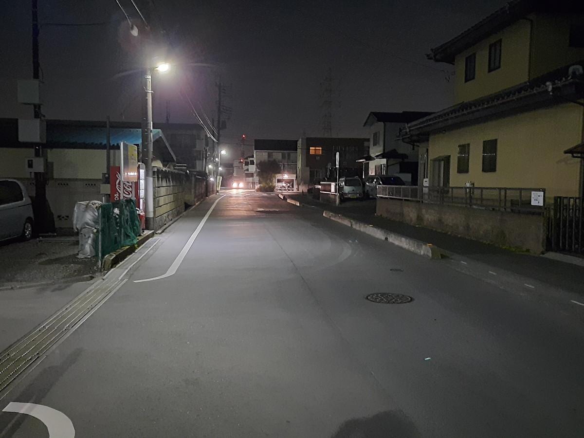 Galaxy A51 夜景撮影