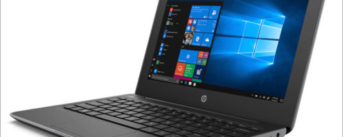 HP Stream 11 Pro G5 - あのStream 11に「頑丈な」モデルが追加!タッチディスプレイもついてます