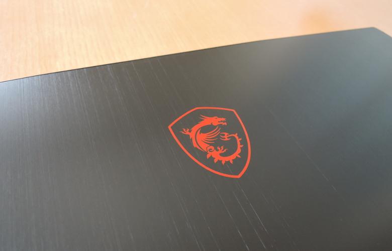 MSI GF63 Thin 天板