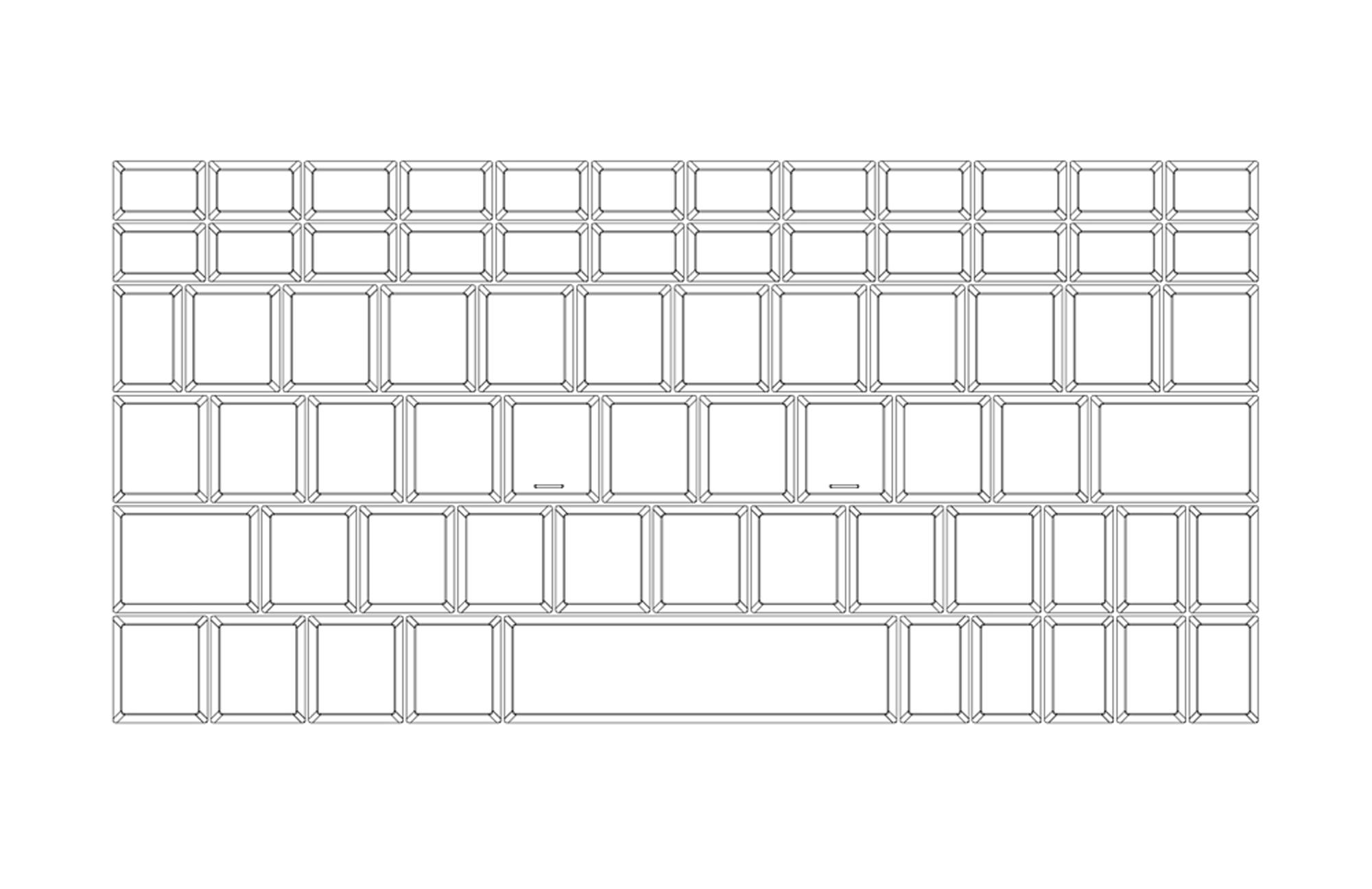 ONE GXのキーボードレイアウト募集