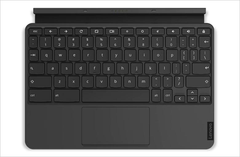 Lenovo Chromebook Duetのキーボード