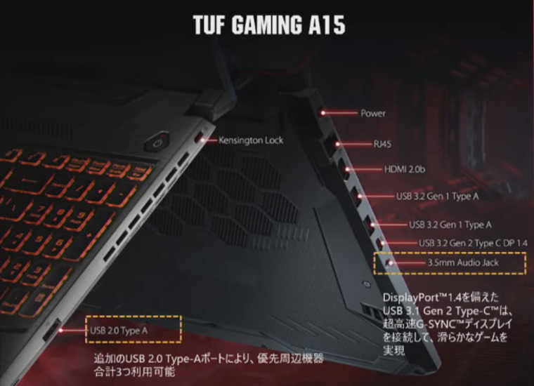 ASUS TUF Gaming A15/A17