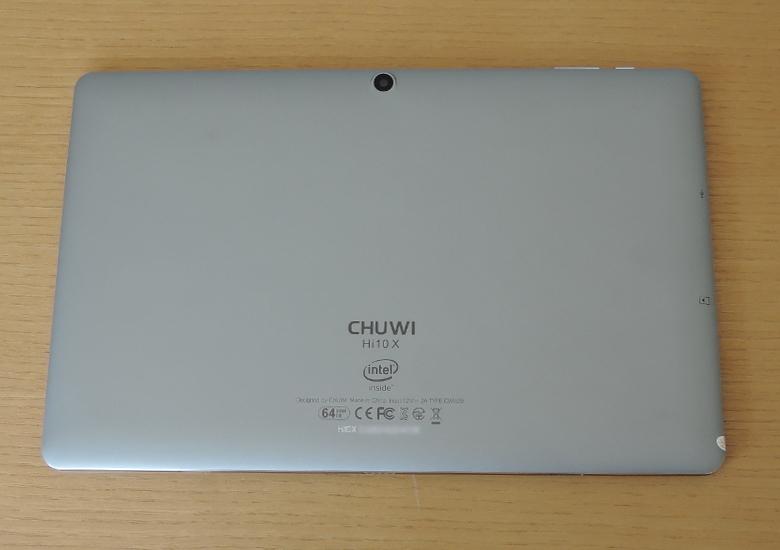CHUWI Hi1- X レビュー 背面