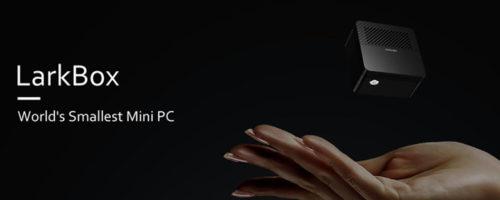 CHUWI LarkBox - 超コンパクトサイズのミニPC、クラウドファンディング開始が6月23日に。CPUも変更になりました