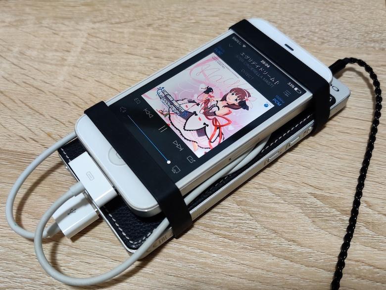 iPhone 4Sをオーディオプレーヤーに
