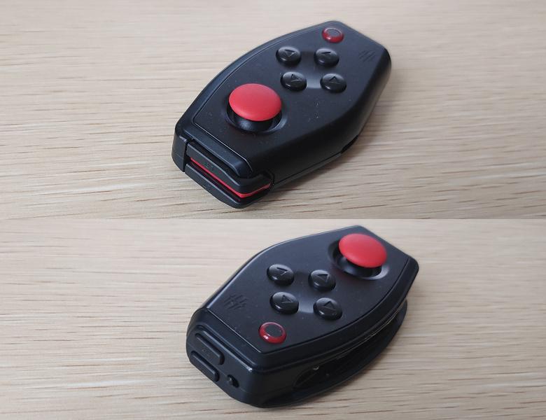 nubia RedMagic 5G レビュー E-Sports Handle