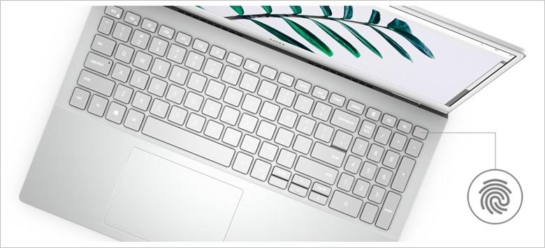 New Inspiron 15 5000(5501)キーボードはテンキー搭載でもシルバートップ