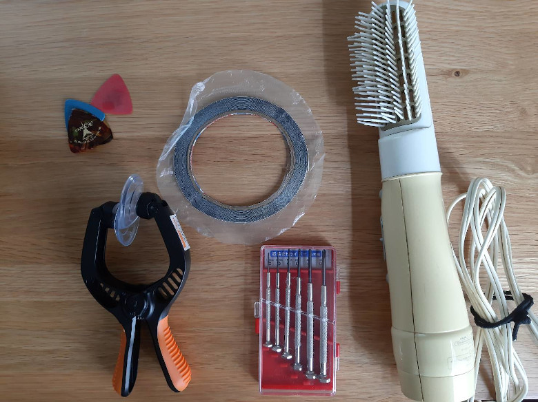 使用した道具