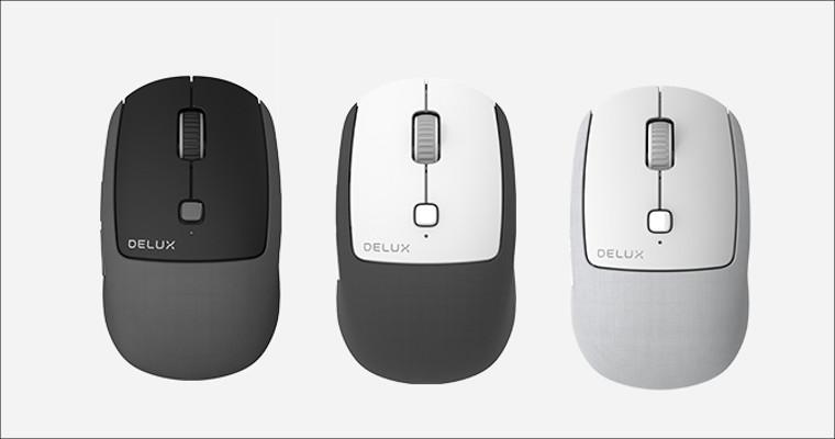マルチデバイス対応の布地マウス「Delux M520」