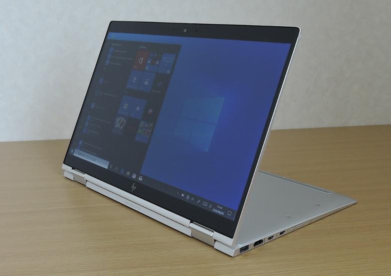 HP Elitebook X360 1040 G6 スタンドモード