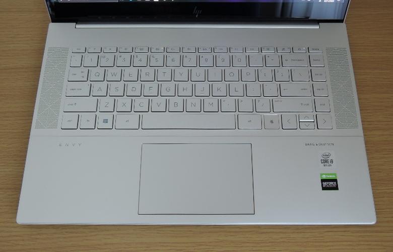 HP ENVY 15 キーボード