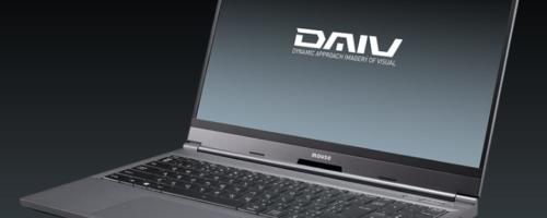 マウス DAIV 5N / G-Tune E5-144 - 15.6インチでGeForce RTX搭載のクリエイターノート、ゲーミングノート。これは…だいぶ軽いぞ!