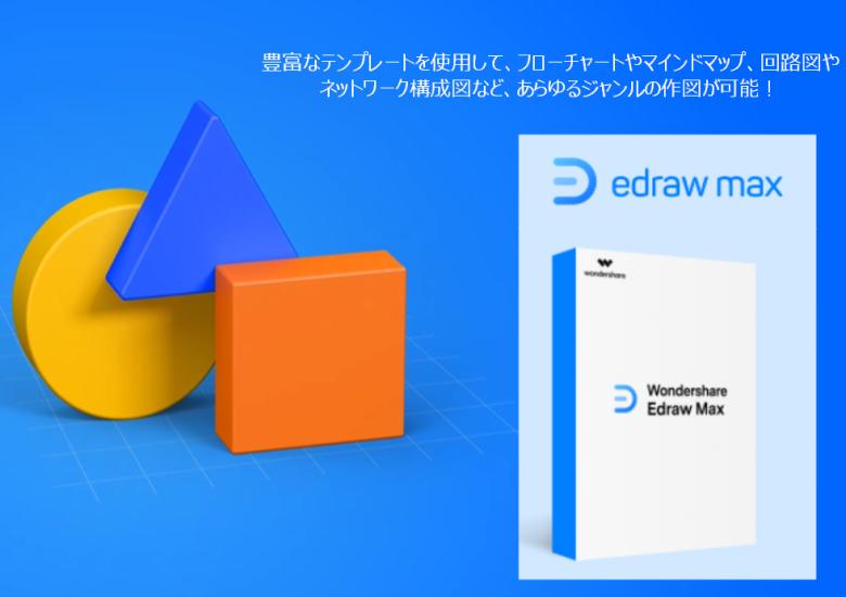 Edraw Maxのアイキャッチ画像