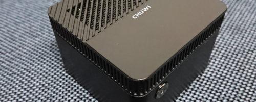 CHUWI LarkBoxの実機レビュー - とにかく小さいけれど動作はキビキビ!リビング用にもぴったりの超小型デスクトップPC