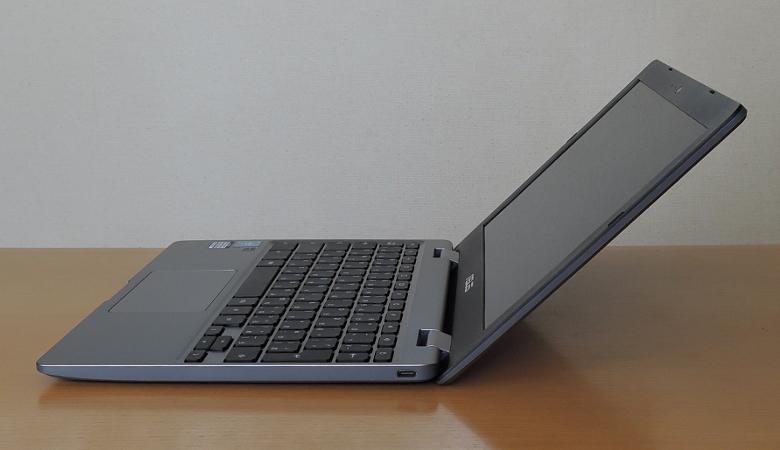 ASUS Chromebook C223NA 横から