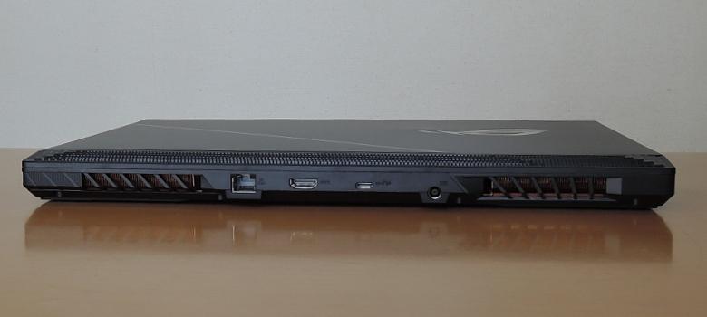 ASUS ROG Strix Scar 15 G532LWS 背面