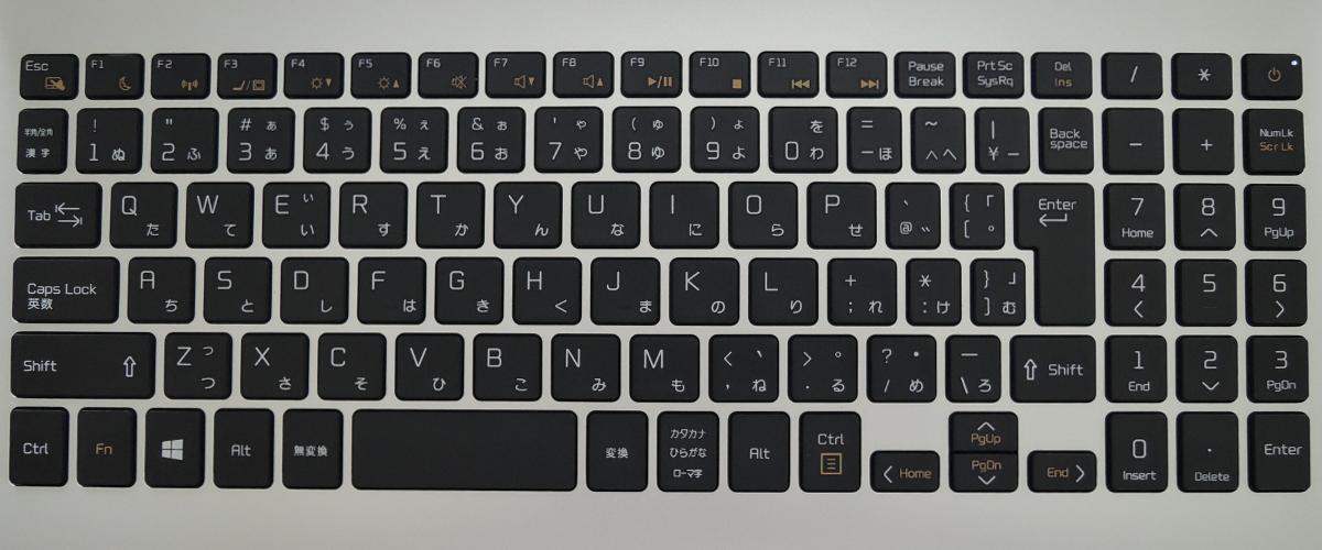 ドスパラ DX-C5 キーボード