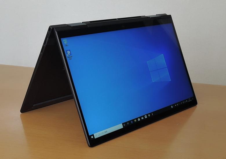 HP ENVY x360 13(ay0000)テントモード