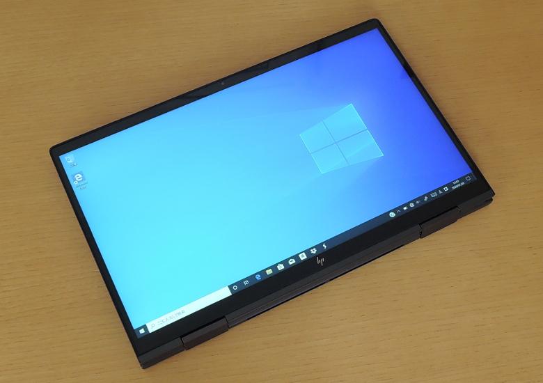 HP ENVY x360 13(ay0000)タブレットモード