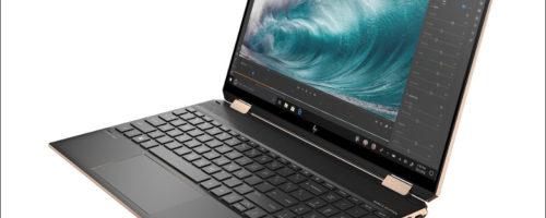 HP Spectre x360 15(eb0000)- ハイエンドな15.6インチコンバーチブル2 in 1、ゲーミングノート並みの性能と高級感あふれるデザインが魅力です