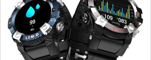 LEMFO LEMD - 完全ワイヤレスイヤホンを内蔵するアウトドアタイプのスマートウォッチ、これは素晴らしい!
