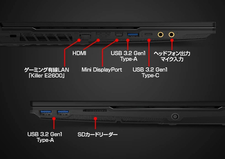 MSI Alpha 15(A3DC-242JP)