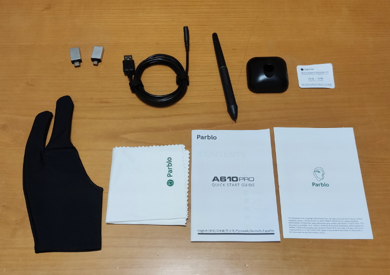 Parblo A610 Proの実機レビュー