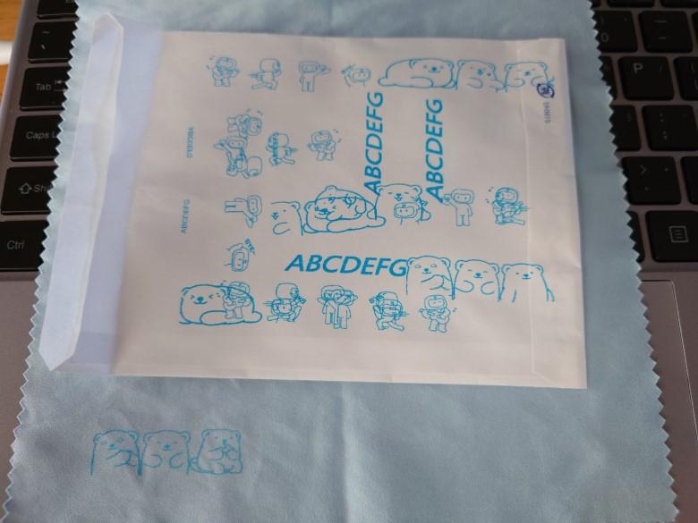 紙と布に印刷してみた