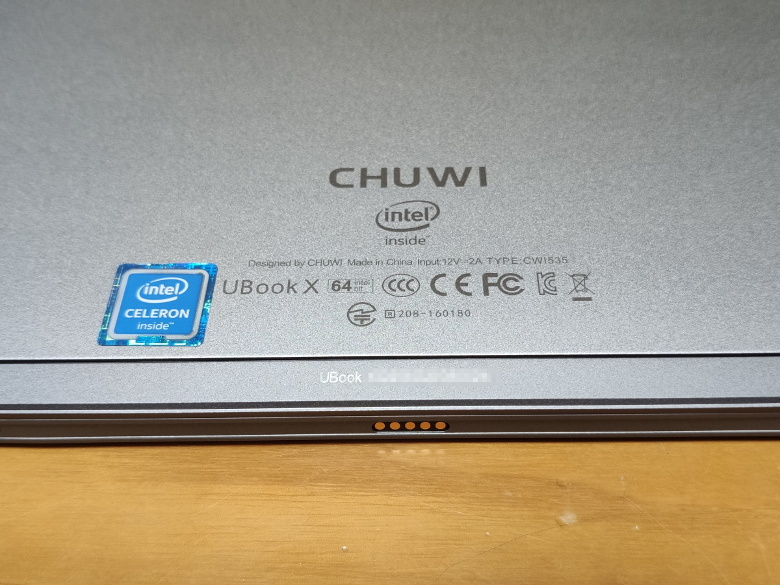 Chuwi UBook X レビュー