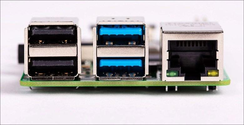 Raspberry Pi 4B ポート