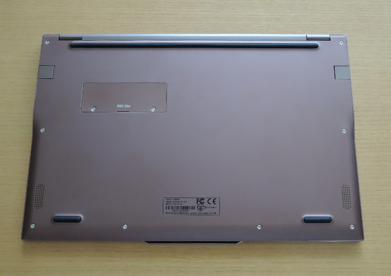 Jumper EZbook X3 Air 底面